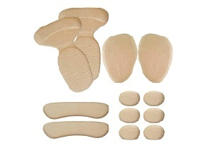 Suede Cushion Inserts by Chiroplax for High Heels