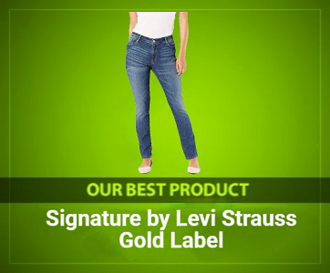 Signature by Levi Strauss & Co. Gold Label Women's Straight Jeans Review